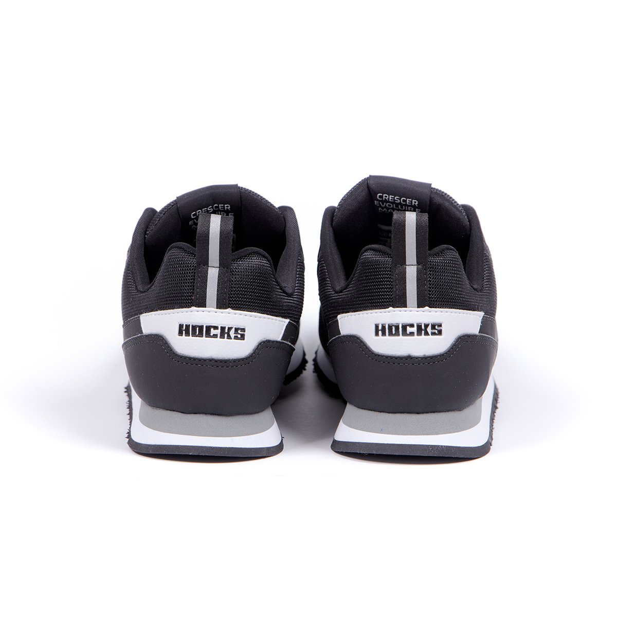Tênis Hocks Nuv Black White