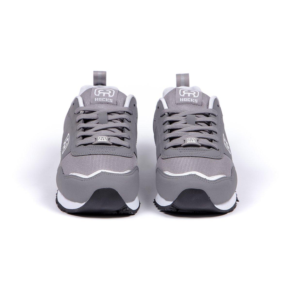 Tênis Hocks Nuv Grey White