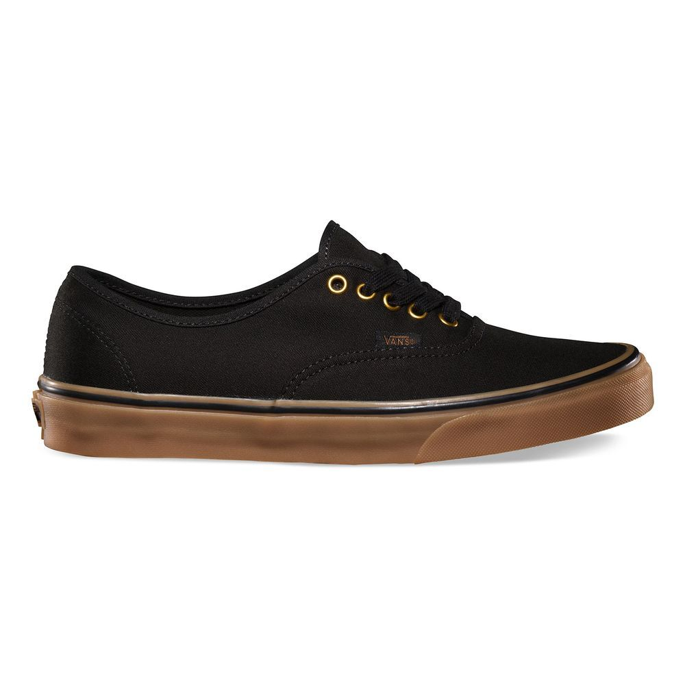 Tênis Vans Authentic Black Rubber