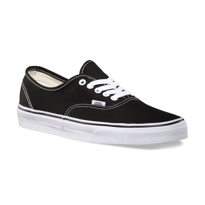 Tênis Vans Authentic Black White