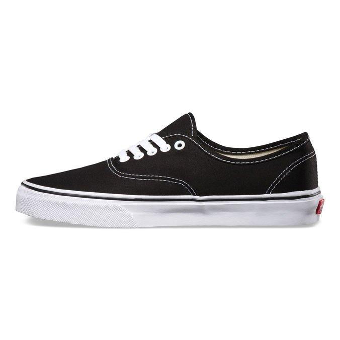 Tênis Vans Authentic Black White