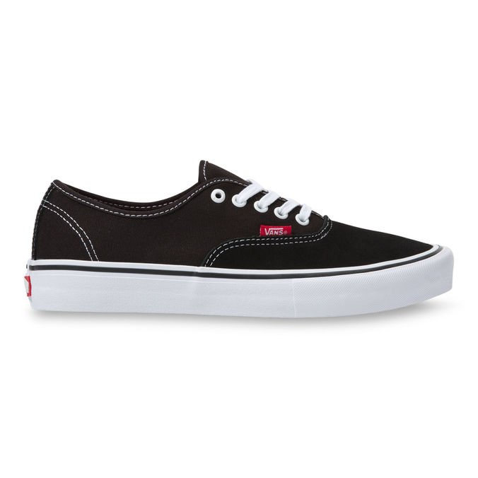 Tênis Vans Authentic Pro Black White