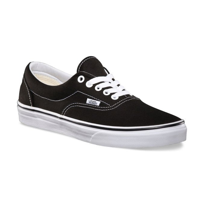 Tênis Vans Era Black White