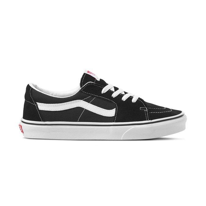 Tênis Vans Sk8 Low Black White