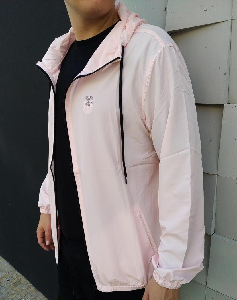 Windbreak Element Basic Rosa