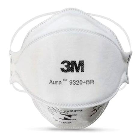 Respirador Hospitalar para Partículas 3M Aura 9360H, 3 Painéis