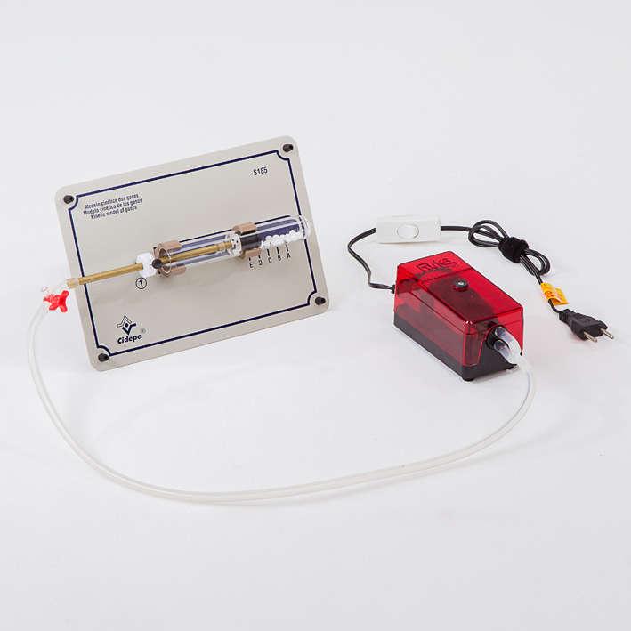 Tábua modelo cinética dos gases