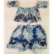 Conj. Tie Dye Blue - 2213050
