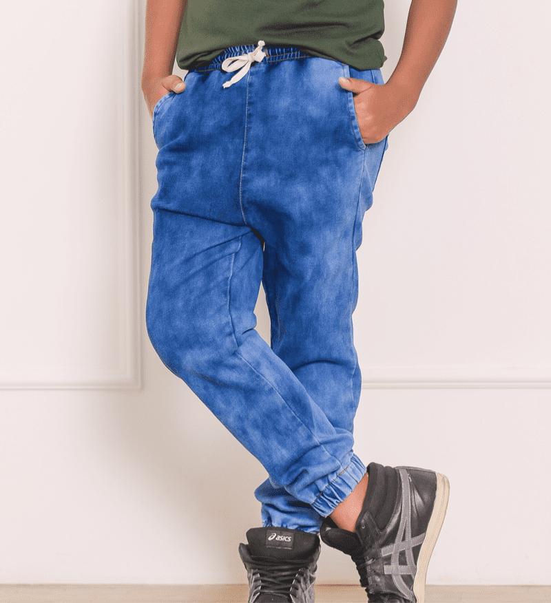 Calça Moletom Jeans 1231172