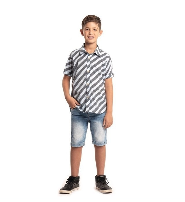 Camisa Listras Style 1262155