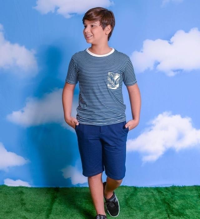 Conj. T-Shirt Listras 1213006