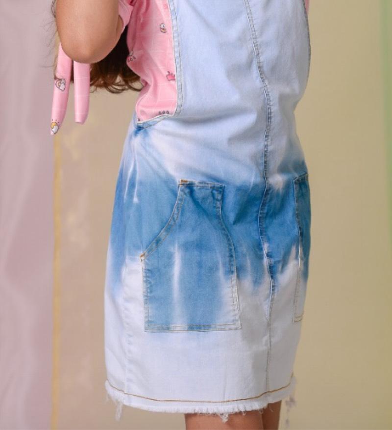Salopete Jeans Tie Dye 2251085