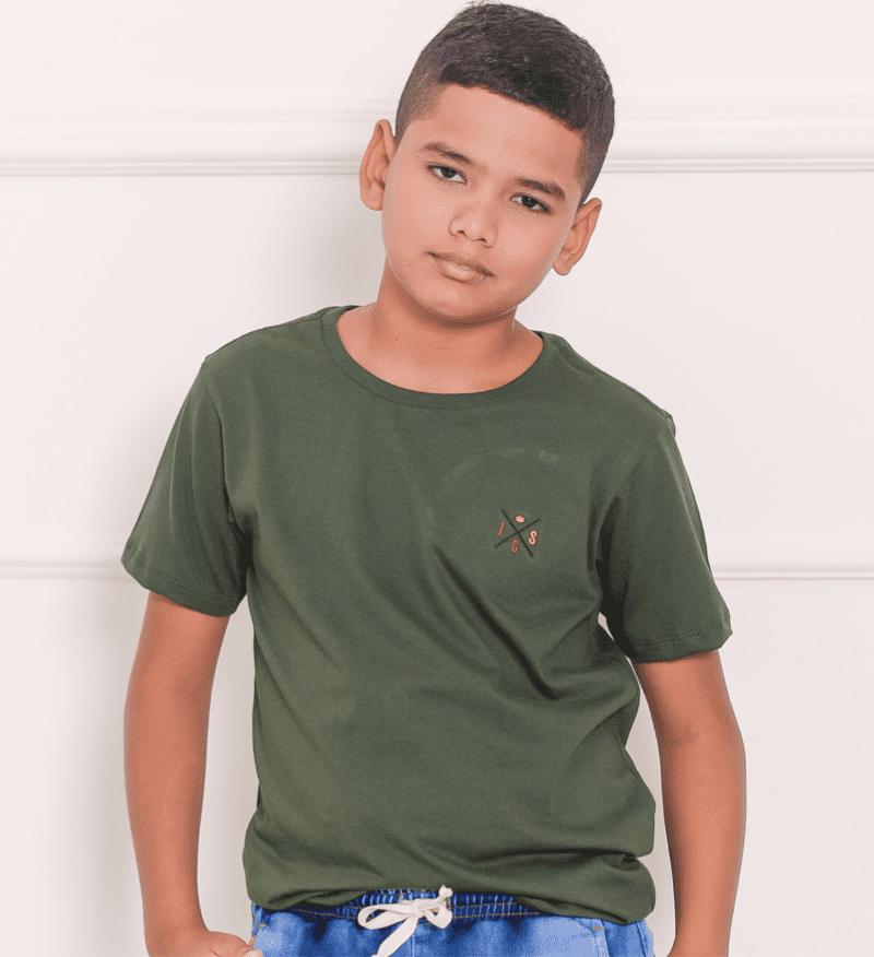 T-Shirt Básica Colors 1263496