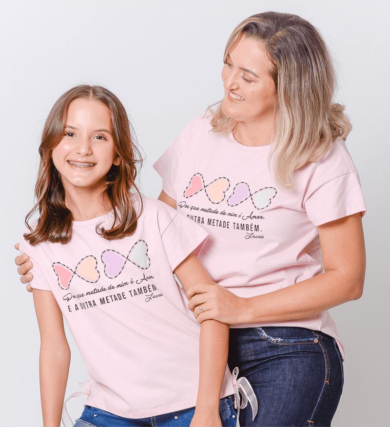 Tal Filha | T-shirt Corações 2263418