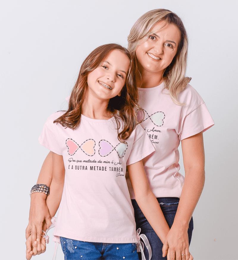 Tal Mãe   T-shirt Corações 2363081