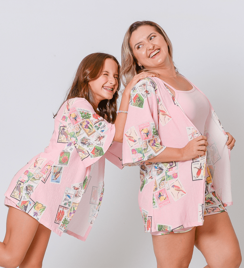Tal Mãe, Tal Filha | Kit Kimono