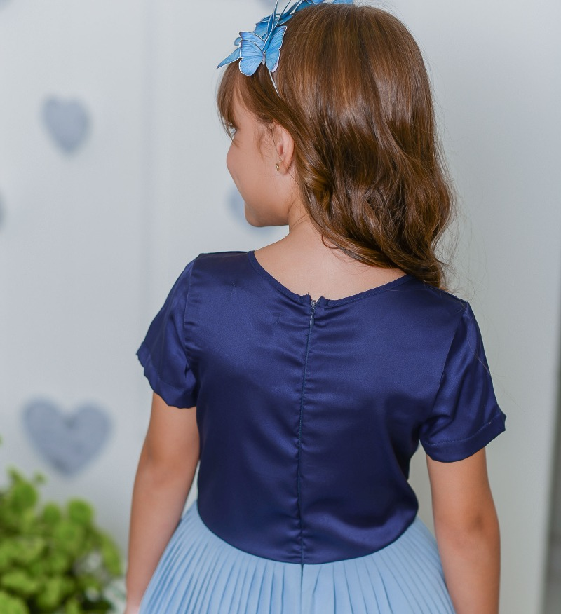 Vestido Plissado 2152575