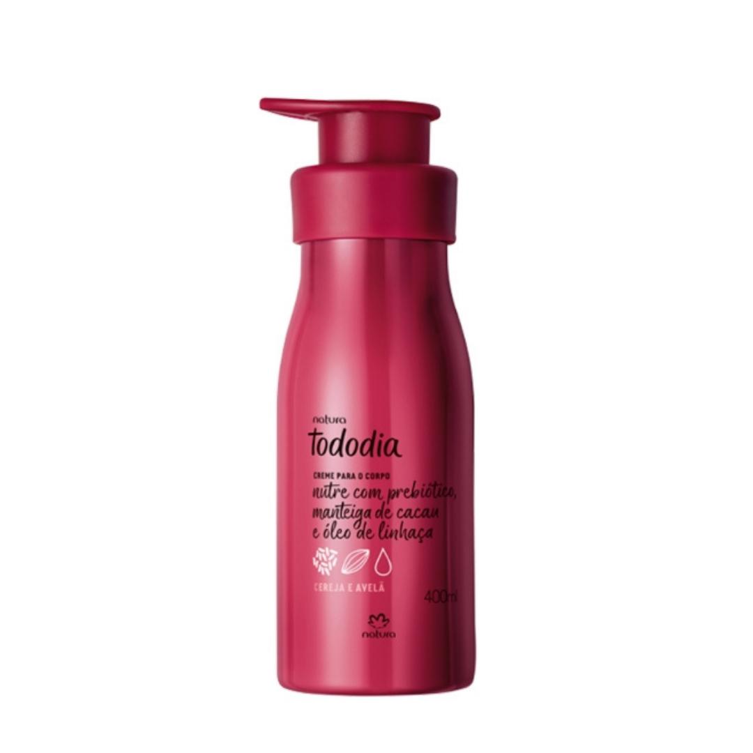 Creme Desodorante Nutritivo Para o Corpo Cereja e Avelã