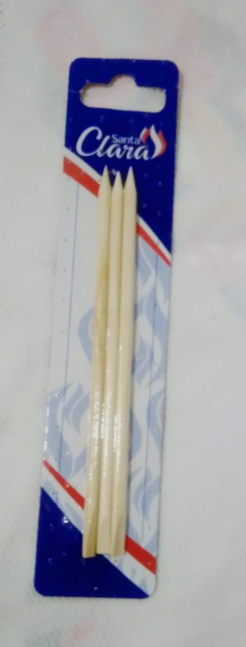 Palito de unha Laranjeira com 3 Unidades
