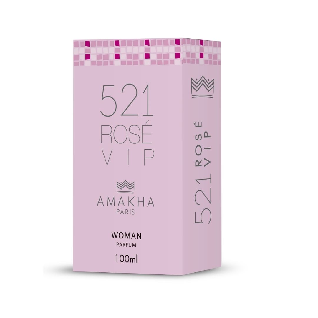Perfume 521 Vip Rose Woman 100ml