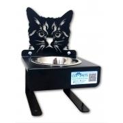 Comedouro de Gato Inox - Compets