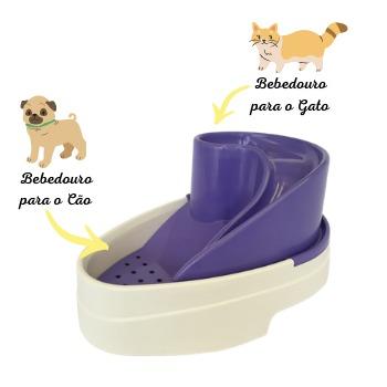 Bebedouro Tobo Fonte Automático para Cães e Gatos Bivolt