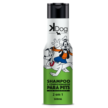 Shampoo e Condicionador 2x1 K-Dog - 500ml