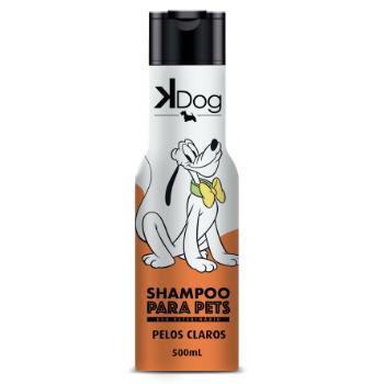 Shampoo Iluminador para Cachorro Pelos Claros e Amarelos - 500ml - K-Dog
