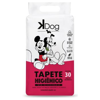 Tapete Higiênico K-Dog Disney - 30 Unidades
