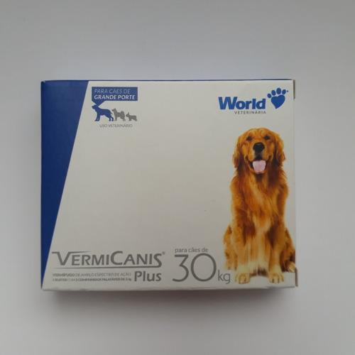 Vermifugo para cachorro - 30 Kg