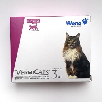 Vermifugo para gatos - 3kg