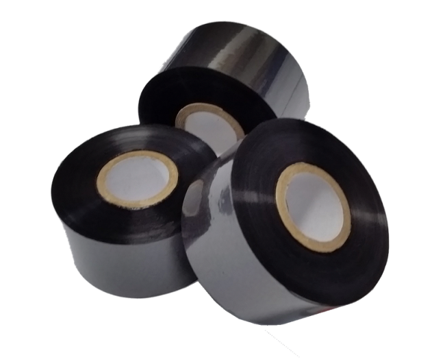 KIT 10 PEÇAS - FITA HOT STAMPING HS32 38MM X 122M - PREMIUM BLACK  - Riberpack