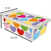 Caixa para Organizadora Coração - 5,50Lts - 34,3 x 3 x 19 - OR16L