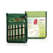 Conjunto Bambu KnitPro de agulhas circulares Intercambiáveis
