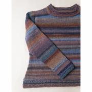 Kit Genova Sweater - Tamanho 3 e 4 - Moira - Lanafil