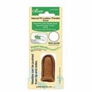 Dedal de couro natural - Pequeno 6028