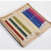 Estojo de agulhas de 2 pontas 20 cm Zing - KnitPro