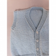 Kit Boy Vest - Baby Merino Superwash - Lanafil