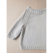 Kit Cabled Sweater - Sidney - Lanafil