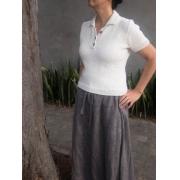 Kit Polo Shirt - Tamanho 6 e 7 - Cotton Basic - Lanafil