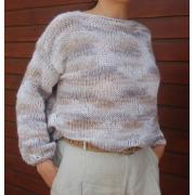 Kit Puff Sleeves Sweater - Lleida - Lanafil