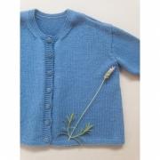 Kit Sophia's Cardigan - Tamanho 6 anos - Baby Merino Superwash - Lanafil