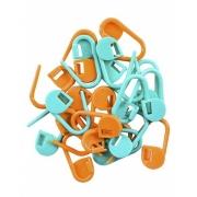 Marcador de pontos (cadeado) para tricô e crochê - Círculo
