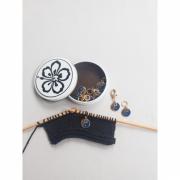 Marcadores Linha Yin Yang Dourado