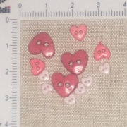 Mini Botões - Mix de Coração Cod.2217328