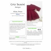 Receita Alice Dress - Empório das Lãs