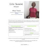 Receita Blue Tunic - Empório das Lãs