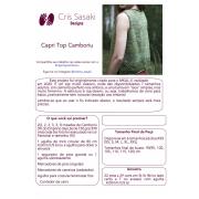 Receita Capri Top Camboriú - Empório das Lãs
