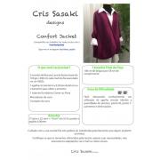 Receita de Tricô Confort Jacket - Empório das Lãs