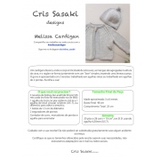 Receita Melissa Cardigan - Empório das Lãs
